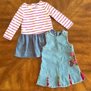 BabyGap and the children's place dress lot 3T